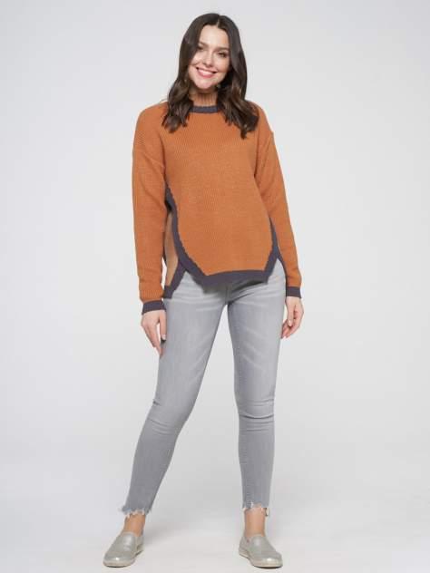 Джемпер женский VAY 202-41014 коричневый 48