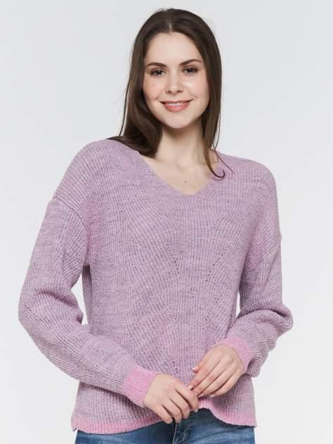 Пуловер женский VAY 192-4084 розовый 54