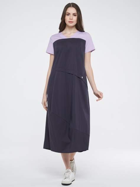 Платье женское VAY 201-3574 серое 54