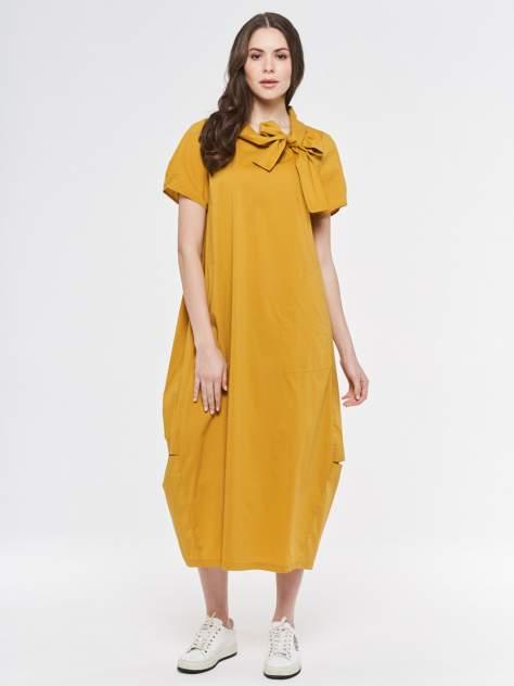 Женское платье VAY 201-3575, желтый