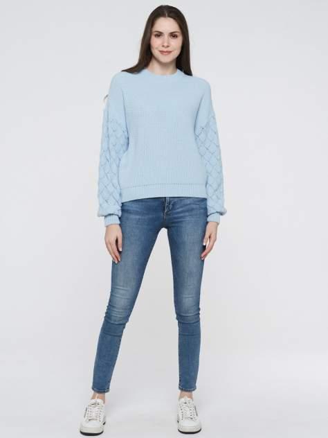 Джемпер женский VAY 202-41013 голубой 52