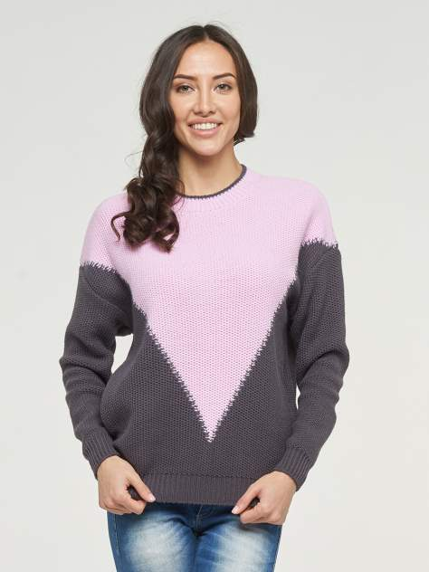 Джемпер женский VAY 192-4088 серый 52