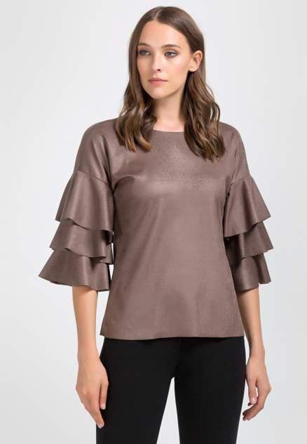 Женская блуза Remix 6578, коричневый
