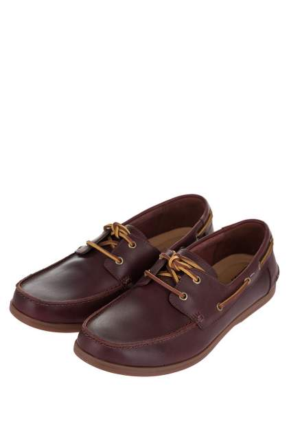Топсайдеры мужские Clarks 26150235 коричневые 8 UK