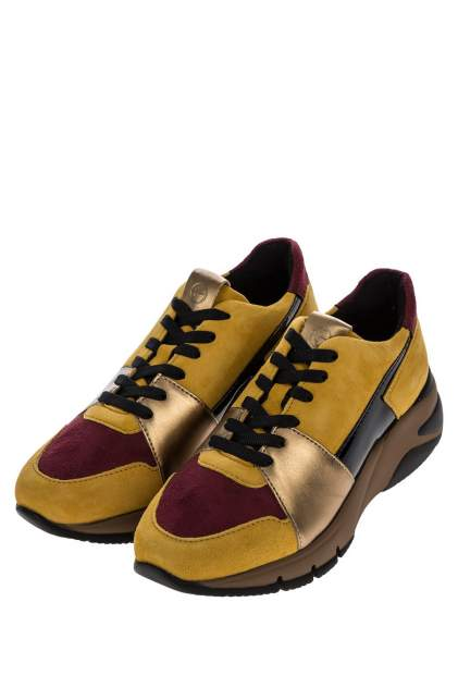 Кроссовки женские Tamaris 1-1-23765-25 желтые 39 DE