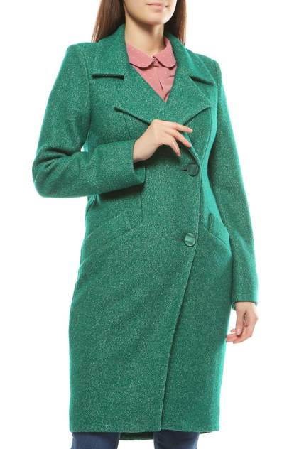 Пальто женское EMANSIPE 7291851 зеленое 42
