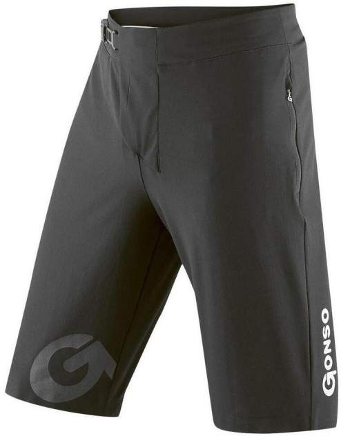Тайтсы Gonso Sitivo Shorts He-Bikeshort, black/bright green, L