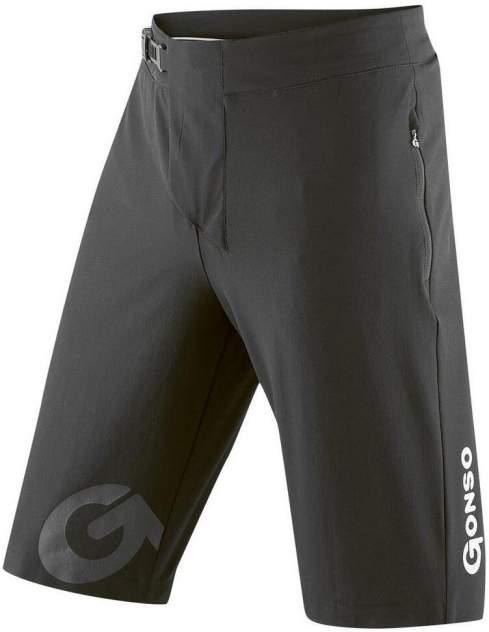 Тайтсы Gonso Sitivo Shorts He-Bikeshort, black/fire, XL