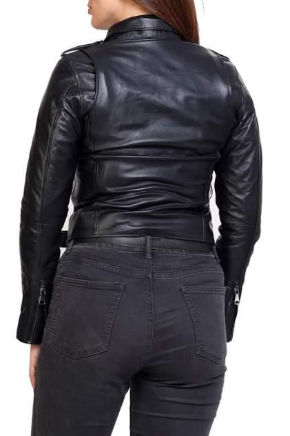 Кожаная куртка женская EXPO FUR B.2 синяя 38