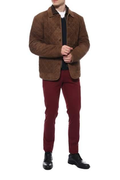 Кожаная куртка мужская HERRMANN SEABAS коричневая L