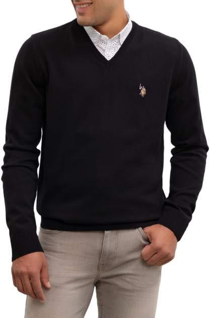 Пуловер мужской U.S. POLO Assn. G081SZ0TK0TD03-BSK9 черный 46