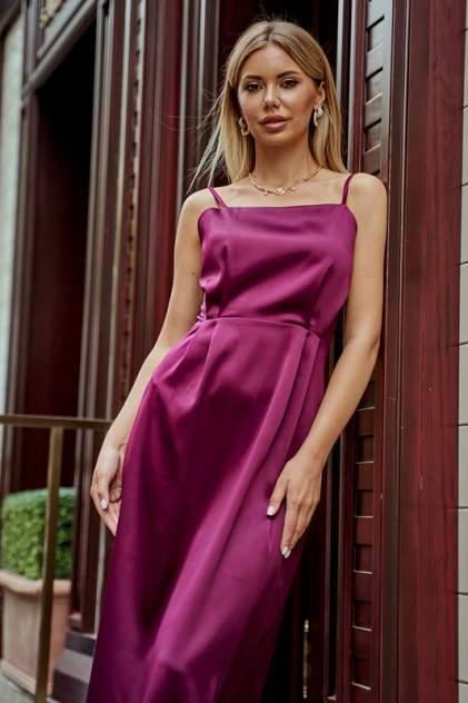 Платье-комбинация женское Hochusebetakoe ST 117 красное 42