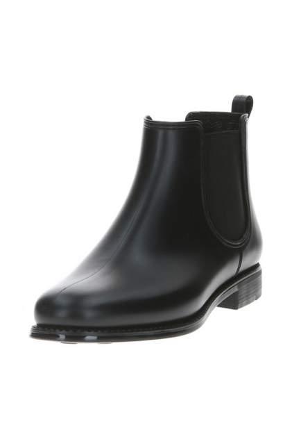 Резиновые сапоги женские MonAmi 17D005K-A черные 36 RU