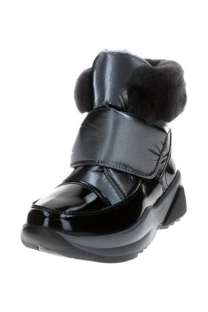 Ботинки женские Jog Dog 1608 черные 37 RU