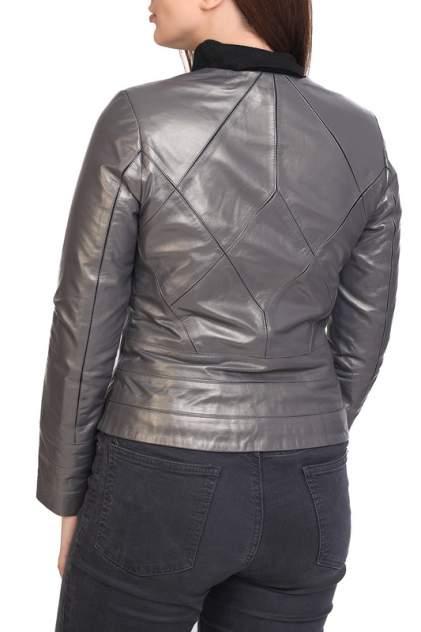 Кожаная куртка женская EXPO FUR B.1696 серая 36