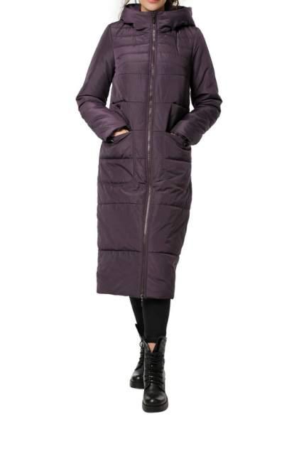 Пуховик-пальто женский DIZZYWAY 20318 фиолетовый 54