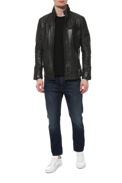 Мужская кожаная куртка REDSKINS KS FIN, серый