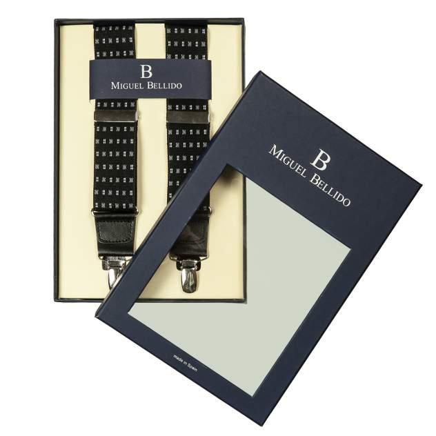 Подтяжки мужские Miguel Bellido 4003301 черные