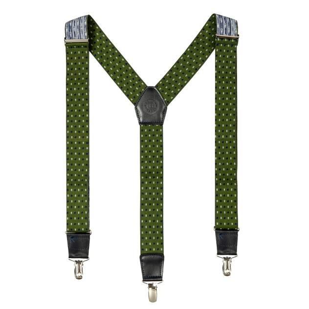 Подтяжки мужские Miguel Bellido 4003301 зеленые