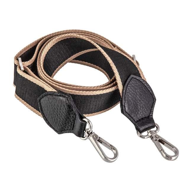 Ремень для сумки Sergio Belotti 15-6 бежевая/черная
