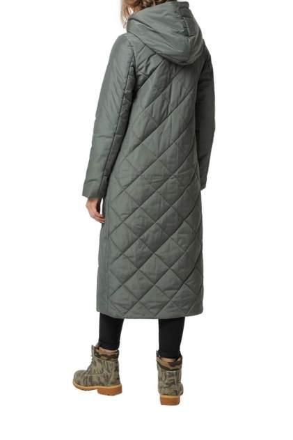 Пуховик-пальто женский DIZZYWAY 20318 зеленый 64