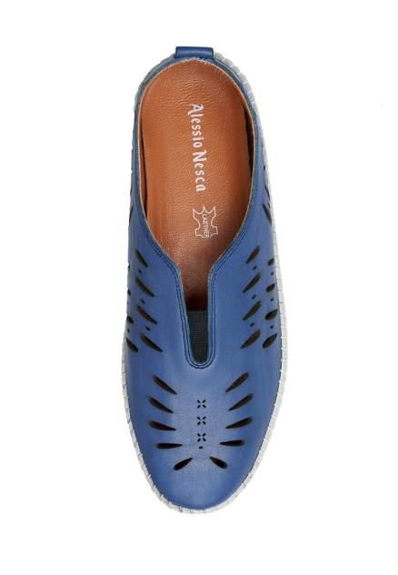 Эспадрильи женские Alessio Nesca 112351 голубые 36 RU