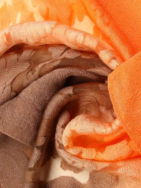 Палантин женский Venera 3400370-1 коричневый/оранжевый