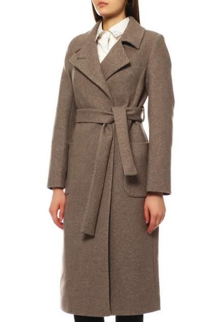 Пальто женское ALIANA 2595 коричневое 44