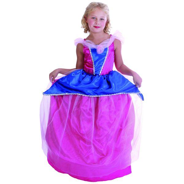 Карнавальный костюм Snowmen Принцесса, цв. розовый; синий р.110