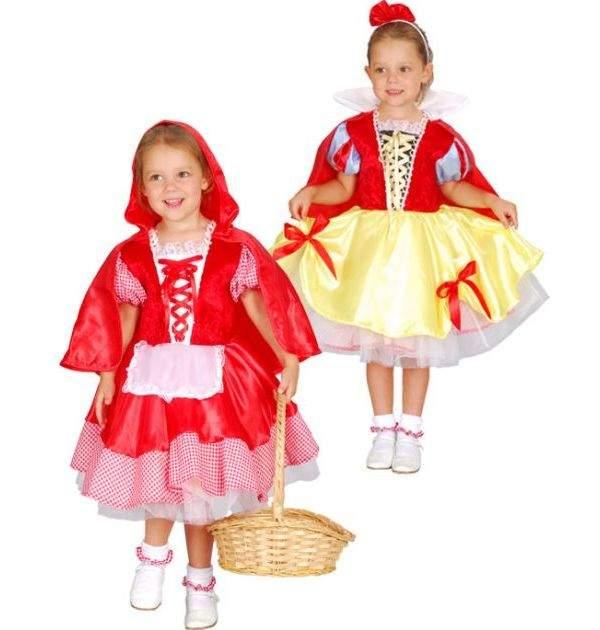 Карнавальный костюм Snowmen, цв. красный, белый, желтый