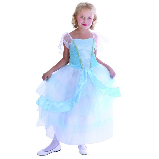 Карнавальный костюм Snowmen Принцесса, цв. голубой р.122