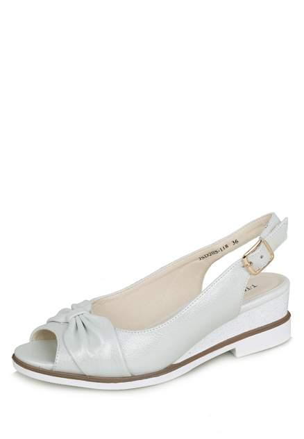 Туфли женские T.Taccardi 111865, серебристый