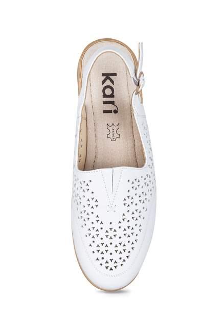 Босоножки женские Kari BPM20SS-30 белые 38 RU