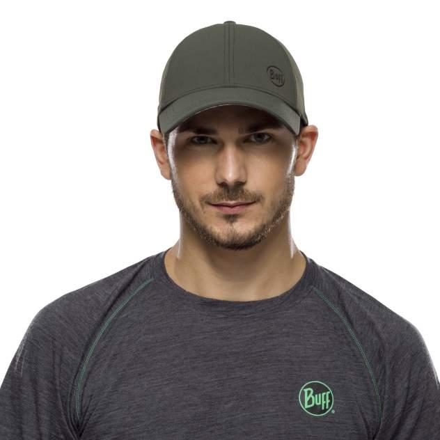Бейсболка Buff Trek Cap, L/XL, moss green