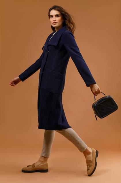 Пальто женское Finn Flare B20-11017 синее L