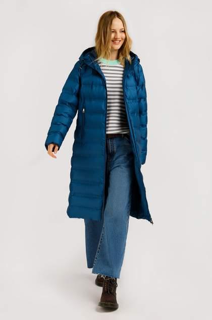 Пуховик женский Finn Flare B20-32065 голубой XL