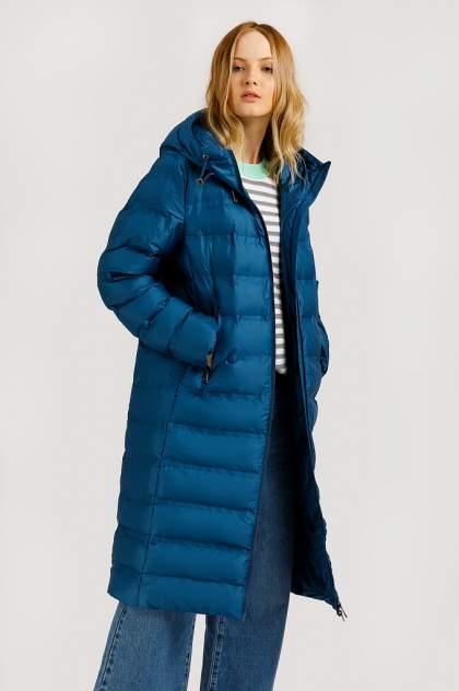 Пуховик женский Finn Flare B20-32065 голубой M