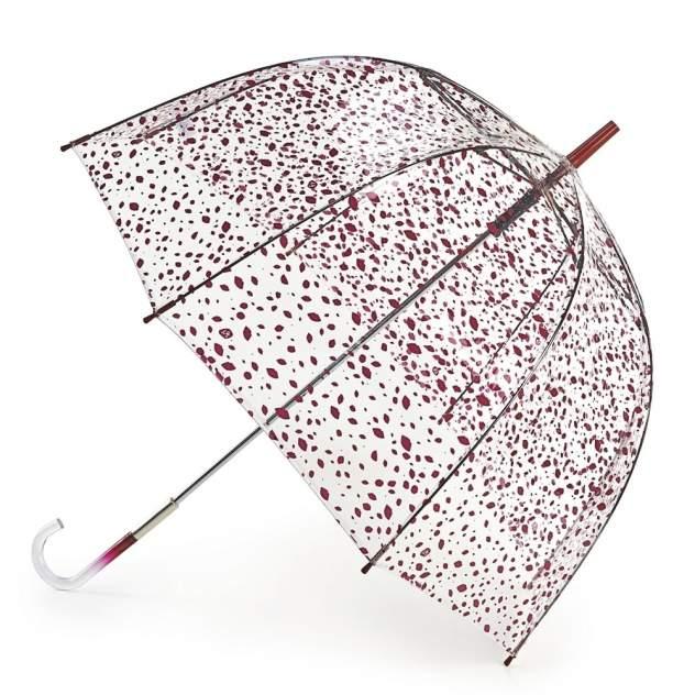 Зонт-трость женский механический Fulton L719-2878 красный