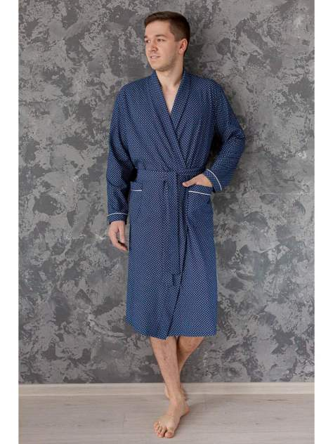 Мужской трикотажный халат Lika Dress 6276, р.54