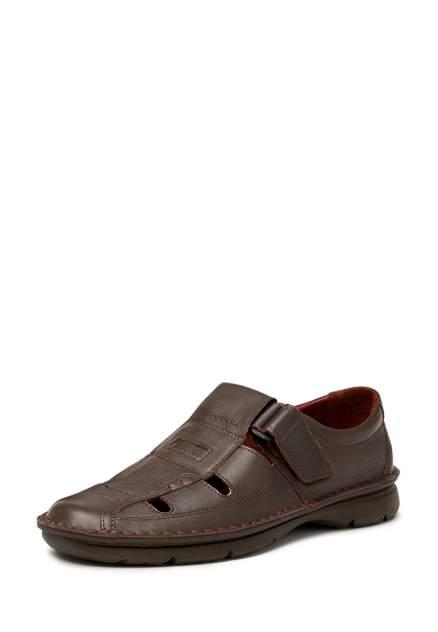 Мужские сандалии Alessio Nesca 111047, коричневый