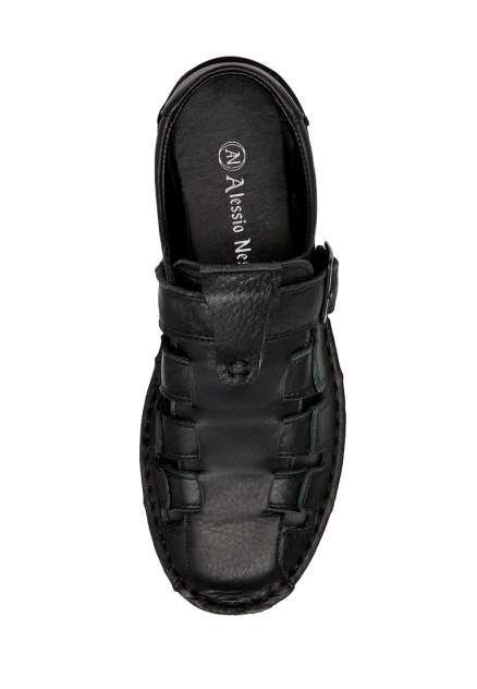 Сандалии мужские Alessio Nesca Z307 черные 42 RU