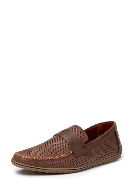 Мокасины мужские Alessio Nesca 110635, коричневый