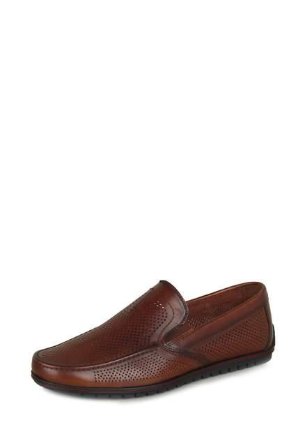 Мужские полуботинки Alessio Nesca 110629, коричневый
