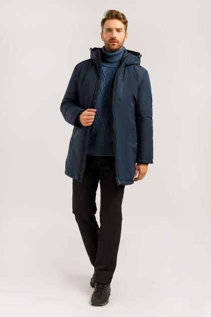 Зимняя куртка мужская Finn Flare W19-21002 темно-синяя XXL
