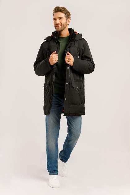 Зимняя куртка мужская Finn Flare W19-22012F черная S