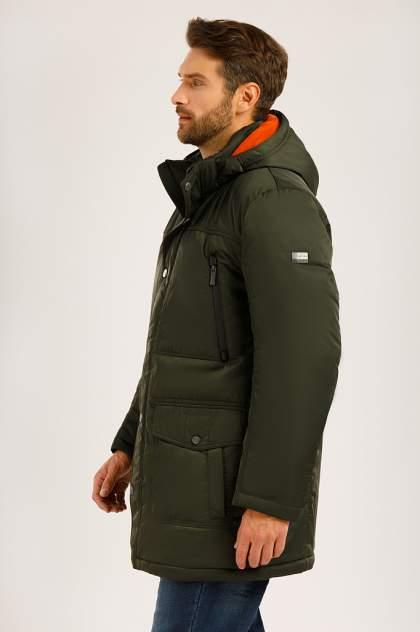 Зимняя куртка мужская Finn Flare W19-22012F темно-зеленая L