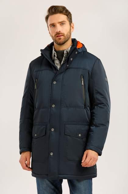Зимняя куртка мужская Finn Flare W19-22012F темно-синяя S