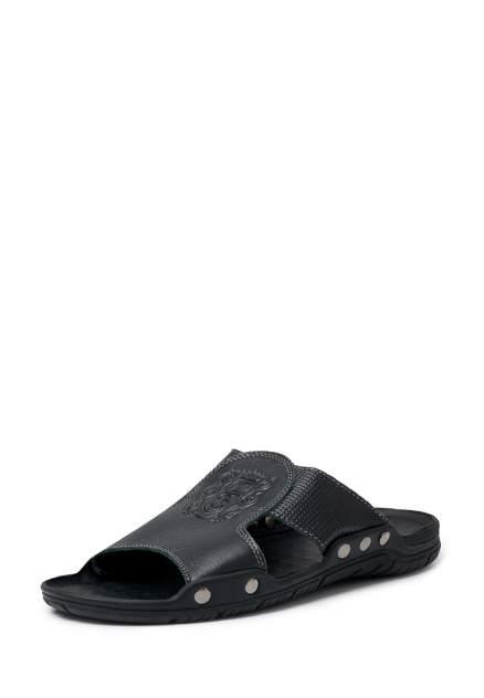 Шлепанцы мужские Alessio Nesca Z85 черные 42 RU