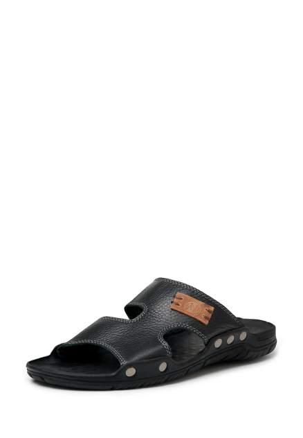 Шлепанцы мужские Alessio Nesca 110520, черный