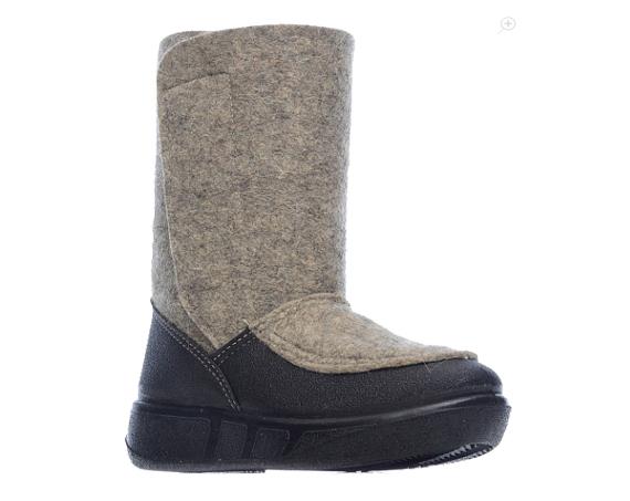 Валенки мужские ШК Обувь WB-14253-1 серые 46 RU